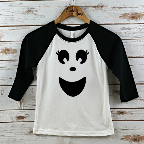 Ghost Face Raglan