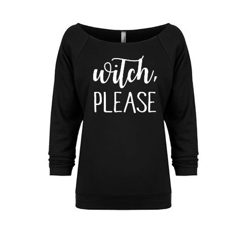 Witch Please French Terry Raglan
