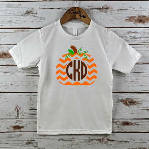 Monogram Pumpkin T Shirt