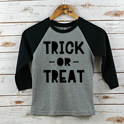 Trick or Treak Kids Raglan