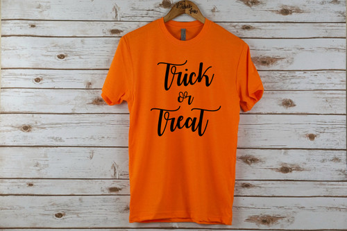 Trick or Treat Adult Shirt