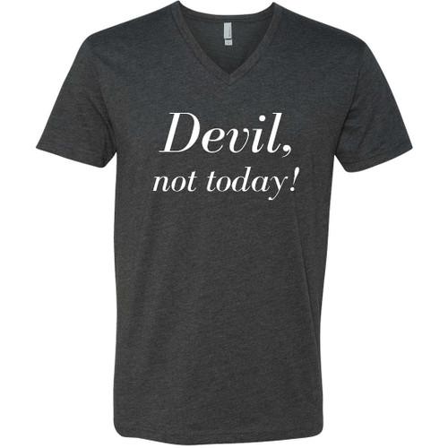 Devil, not today! V Neck