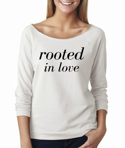Rooted in love French Terry Raglan