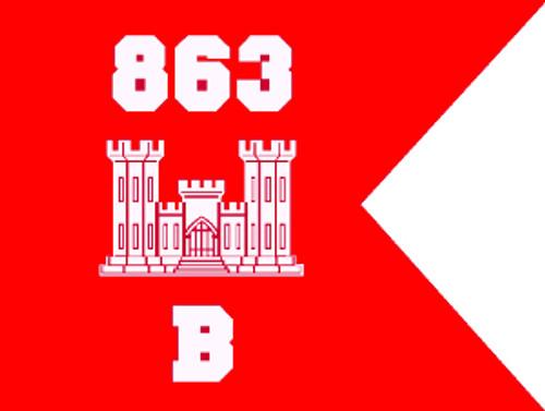 USA 863rd Engineer Battalion Bravo Company