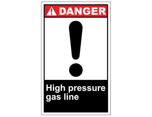 Ansi Danger High Pressure Testing In Progress