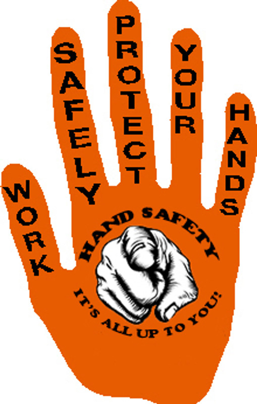 Hand Safety Finger Pointing At You Sticker