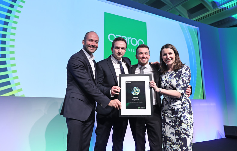 Ozaroo is Northern Ireland's top tech company & 6th in Ireland in Deloitte Fast 50