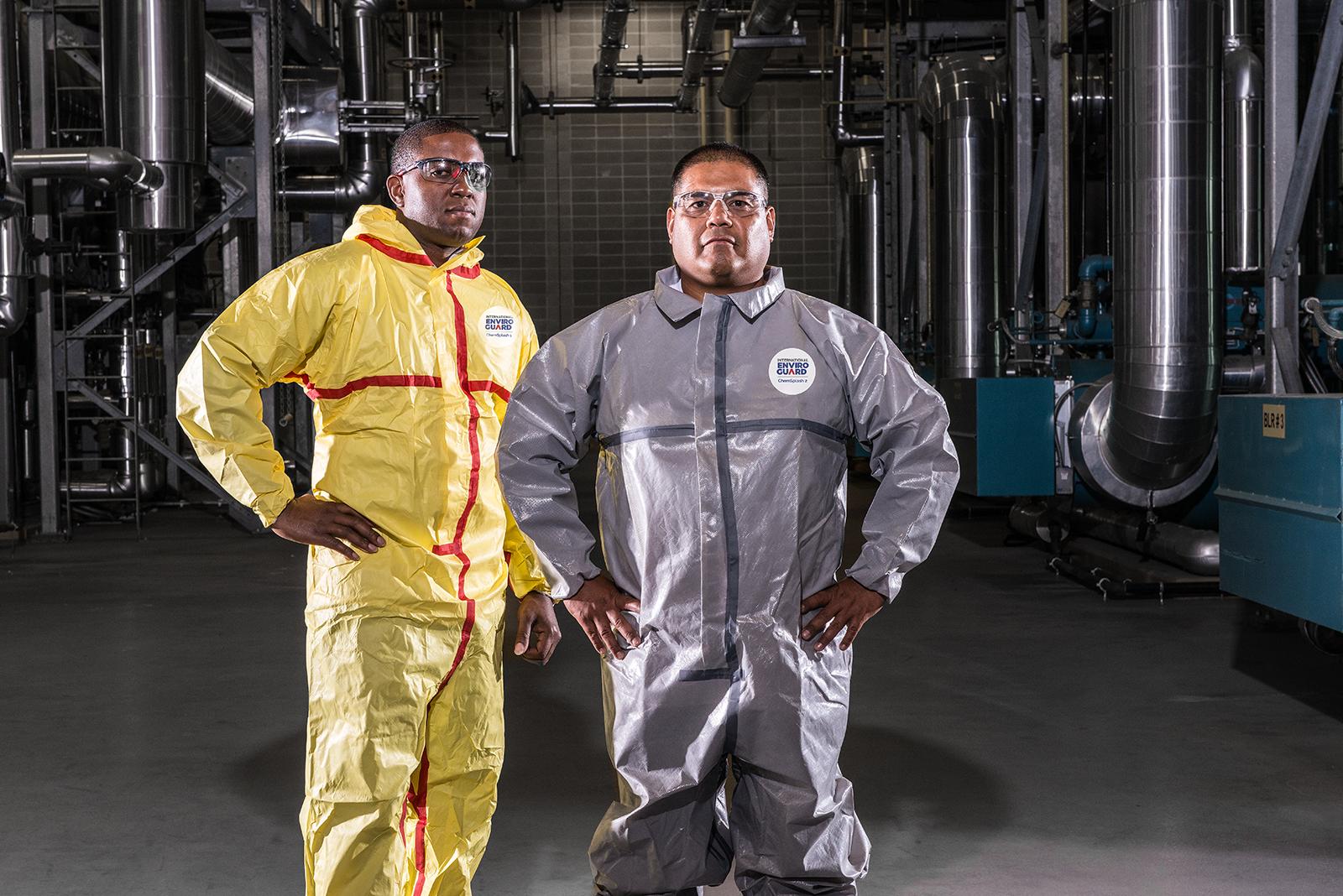 Chemical Splash PPE