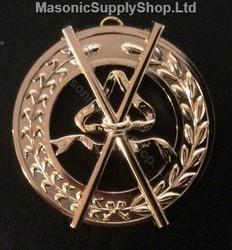 Grand Director of Ceremonies  Collar Jewel   Crossed Batons