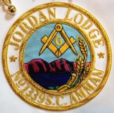 Custom Lodge Apron Badges (Click on picture to see samples)