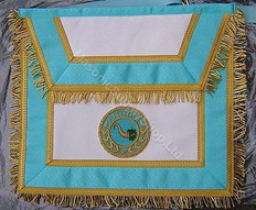 Irish Mason Apron with  Badge