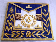 Past District Deputy Grand Master Dress Aprons No Fringe