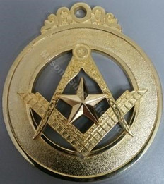 District Deputy Grand Masters  Collar Jewel  With Star
