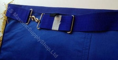 Grand Lodge Apron  Replacement Adjustable Belts  Royal Blue