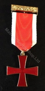 Knights Templar Cross Breast Jewel