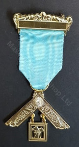 Past Master Breast Jewel   One Bar  Craft with Stone-2