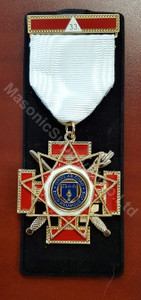 Scottish Rite 33rd degree breast jewel