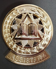 Grand Assistant Chaplain Collar Jewel   Open Book