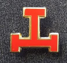 Large Triple Tau Lapel Pin