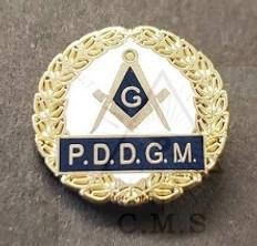 P.D.D.G.M Lapel Pin