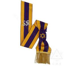 Order of the Secret Monitor  Supreme Ruler Sash