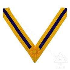 Order of the Secret Monitor  Past Supreme Ruler collar