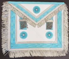 Masonic apron silver