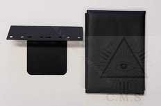 Masonic Jewel Wallet with Jewel Mount