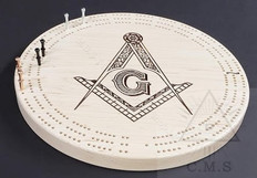 Masonic Crib Board