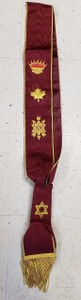 Order of the Secret Monitor  Grand Officer Sash