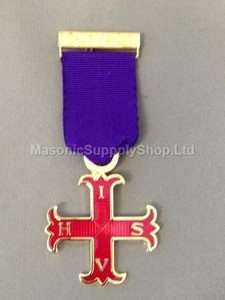 Red Cross of Constantine Members Breast Jewel