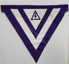 Cryptic Rite Apron   Royal & Select Master