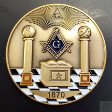 Custom Masonic Coin            Call for Pricing