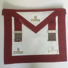 Past  Master Masons Apron  RED