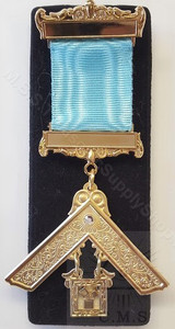 Past Master Breast Jewel-with stone-11
