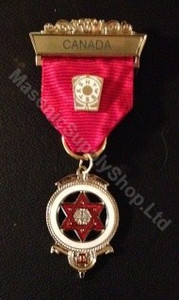Royal Arch Companion Jewel Red