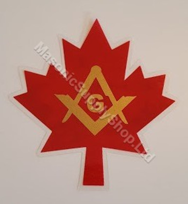 Maple Leaf  Decal    2 per pack