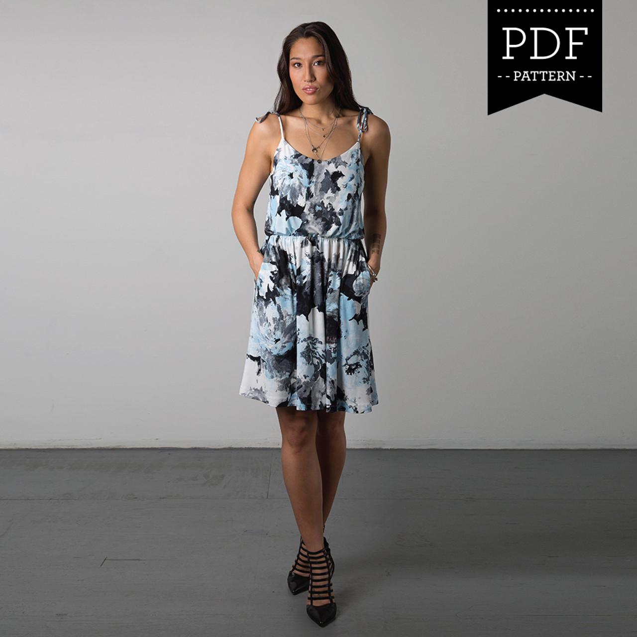 Saltspring Dress PDF Pattern - Sewaholic Patterns