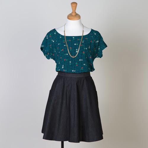 Belcarra Blouse Sewing Pattern By Sewaholic Patterns Simple Tee
