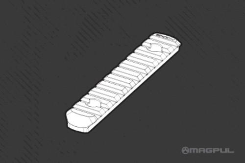 "Magpul MOE Polymer Rail Section - L5 - 4.9"" - Black"