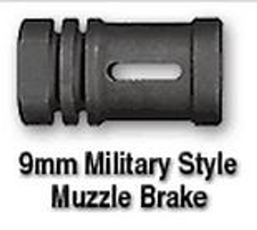 RRA 9mm Military Style Muzzle Brake (1/2x36 Thread)