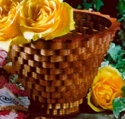 Small Flower Pot Scroll Saw Pattern