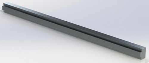 "1"" x 1.71"" Flippable Aluminum Extrusion"