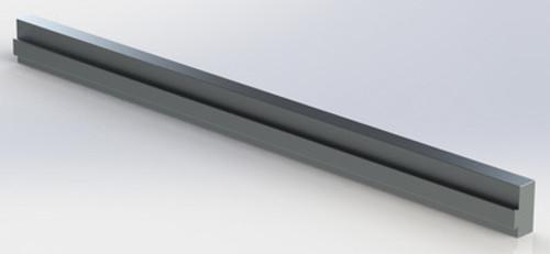 """1"""" x 2-1/4"""" Aluminum Extrusion"""