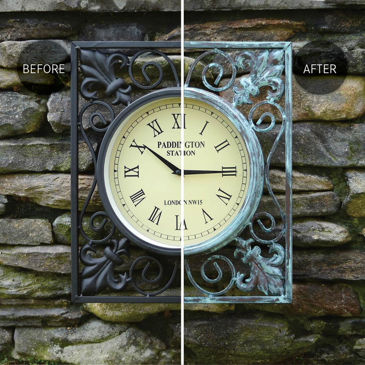 Modern Masters Metal Effects Oxidizing Green Patina Finish Kit