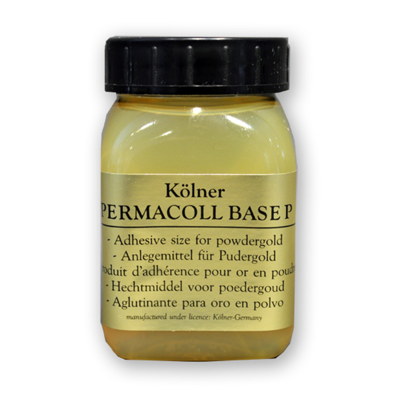 Kolner Adhesive Size for Powder Gold and Mica Permacoll Base P 100ml