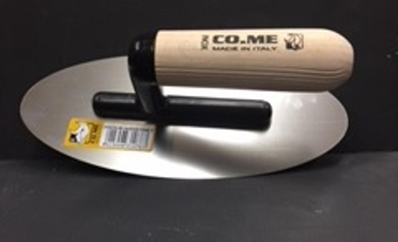 CO.ME Oval Mirror Polished Venetian Plaster Trowel Extra Flexible (310CHL49)