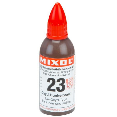 Mixol Universal Tints Oxide Dark Brown #23