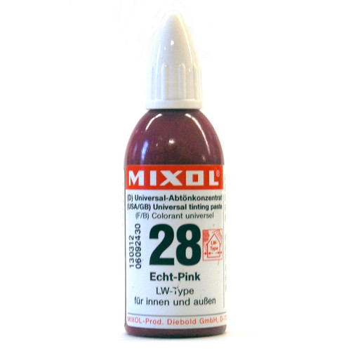 Mixol Universal Tints True Pink #28