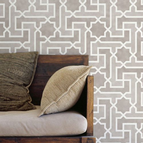 Royal Design Studio Moroccan Key Stencil